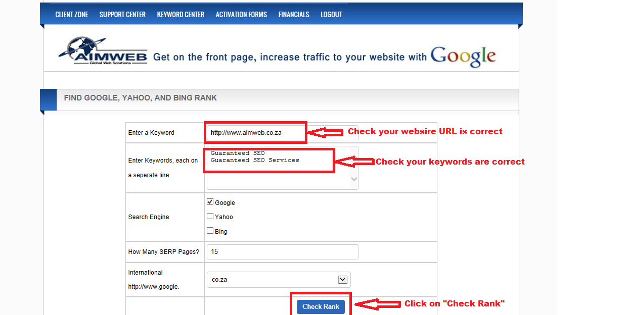 Seo Tutorial Screen 4